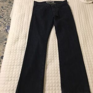 Men's Express jeans.